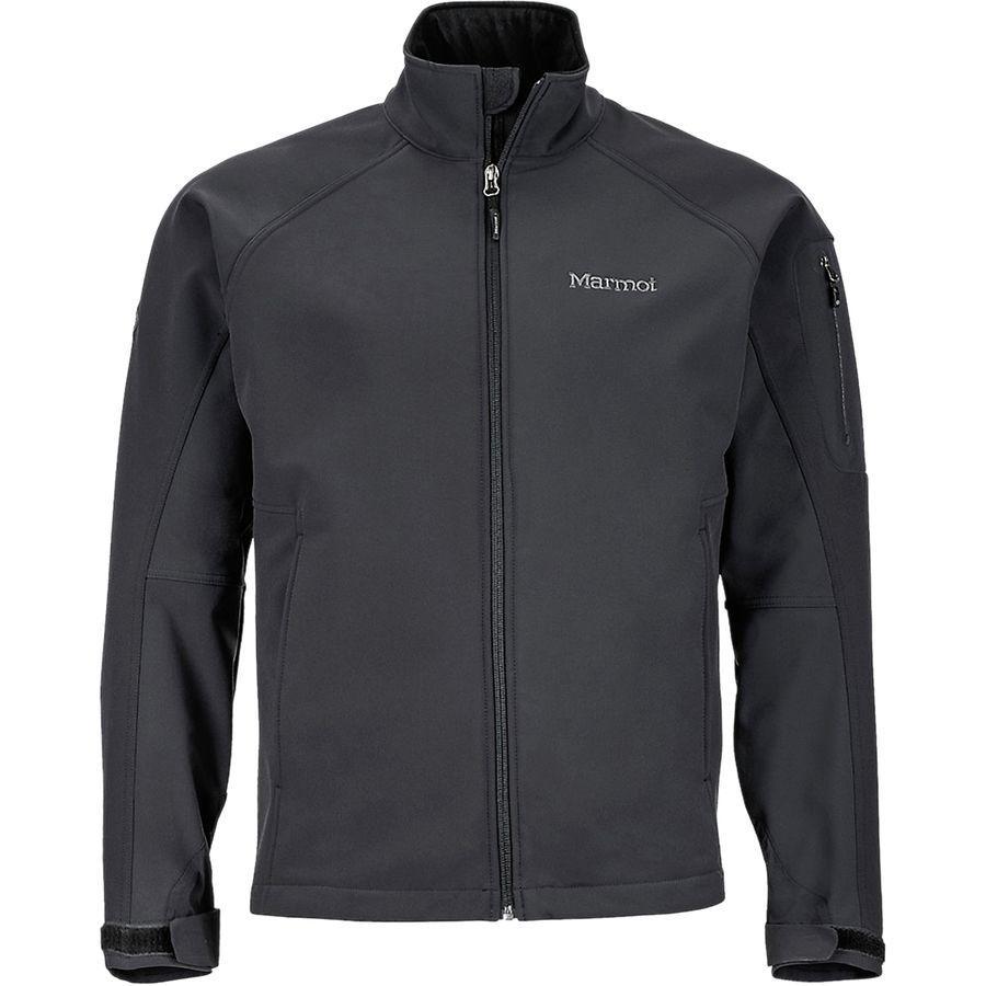【マラソン ポイント10倍】(取寄)マーモット メンズ グラビティ ソフトシェル ジャケット Marmot Men's Gravity Softshell Jacket Black