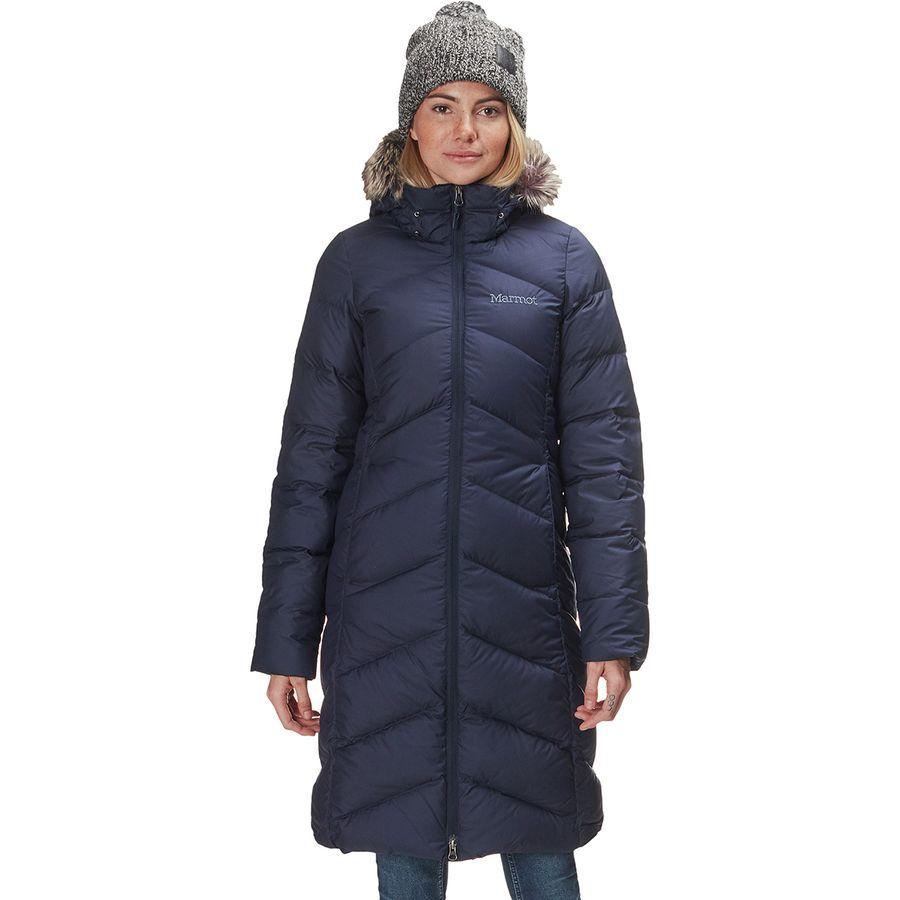 (取寄)マーモット レディース モントルー ダウン コート Marmot Women Montreaux Down Coat Midnight Navy