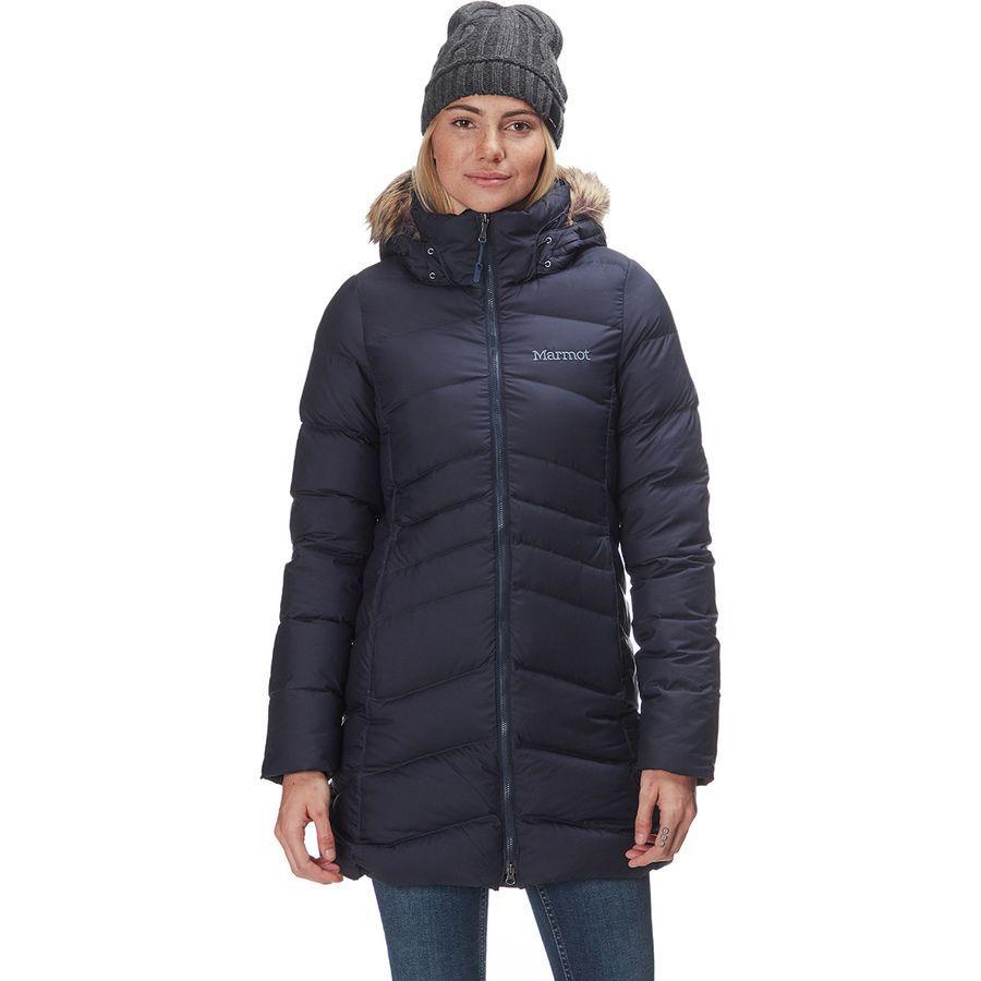(取寄)マーモット レディース モントリオール ダウン コート Marmot Women Montreal Down Coat Midnight Navy