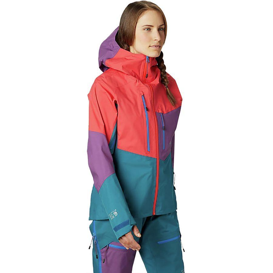 (取寄)マウンテンハードウェア レディース エクスポージャー/ 2 Gore-Tex Pro ジャケット Mountain Hardwear Women Exposure/2 Gore-Tex Pro Jacket Fiery Red