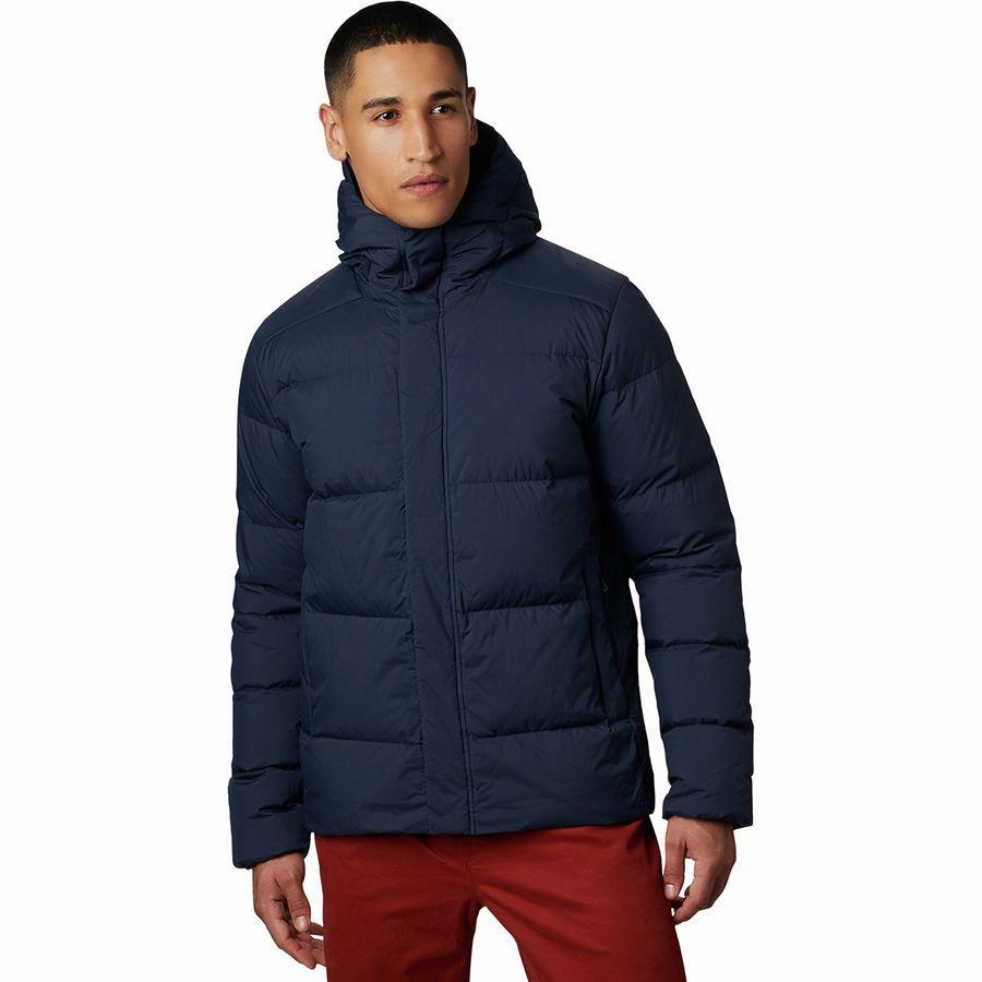 (取寄)マウンテンハードウェア メンズ グレイシャル ストーム ジャケット Mountain Hardwear Men's Glacial Storm Jacket Dark Zinc