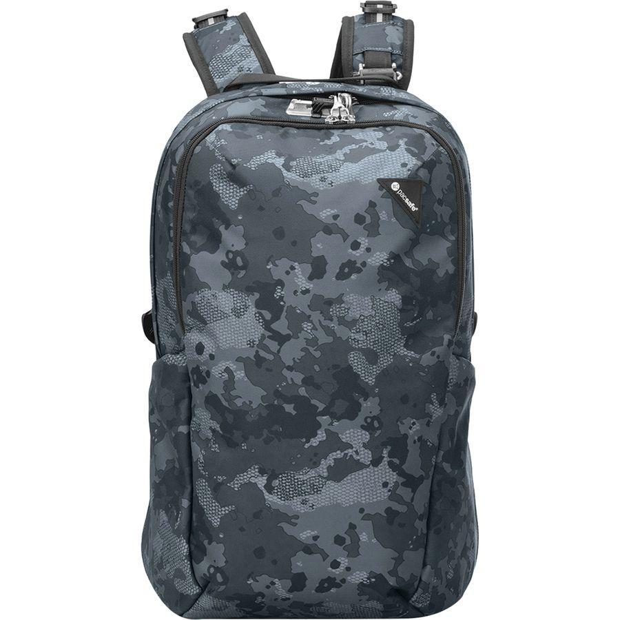 (取寄)パックセーフ ユニセックス ヴァイブ 25L バックパック Pacsafe Men's Vibe 25L Backpack Grey Camo