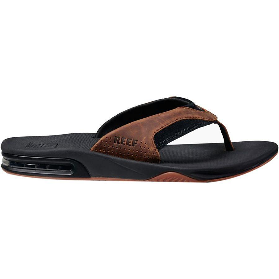 (取寄)リーフ メンズ ファニング ス フリップ フロップ Reef Men's Fanning s Flip Flop Black/Bronze