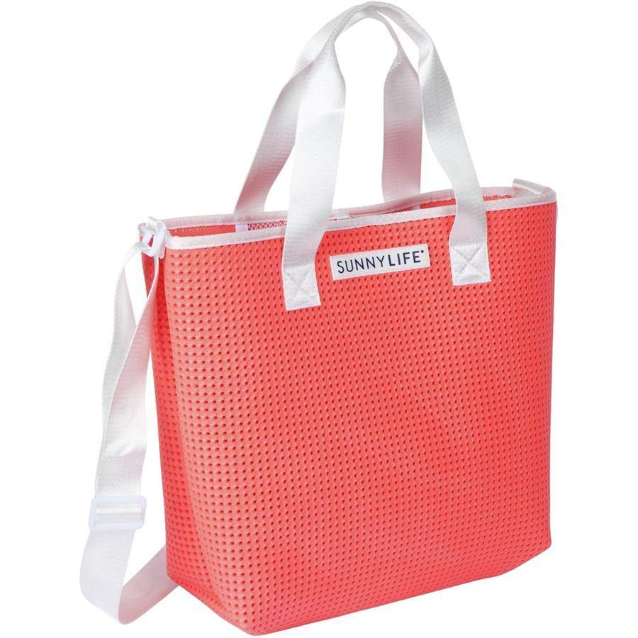 (取寄)サニーライフ レディース リフレッシュ バッグ トート Sunnylife Women Refresh Tote Bag Neon Coral