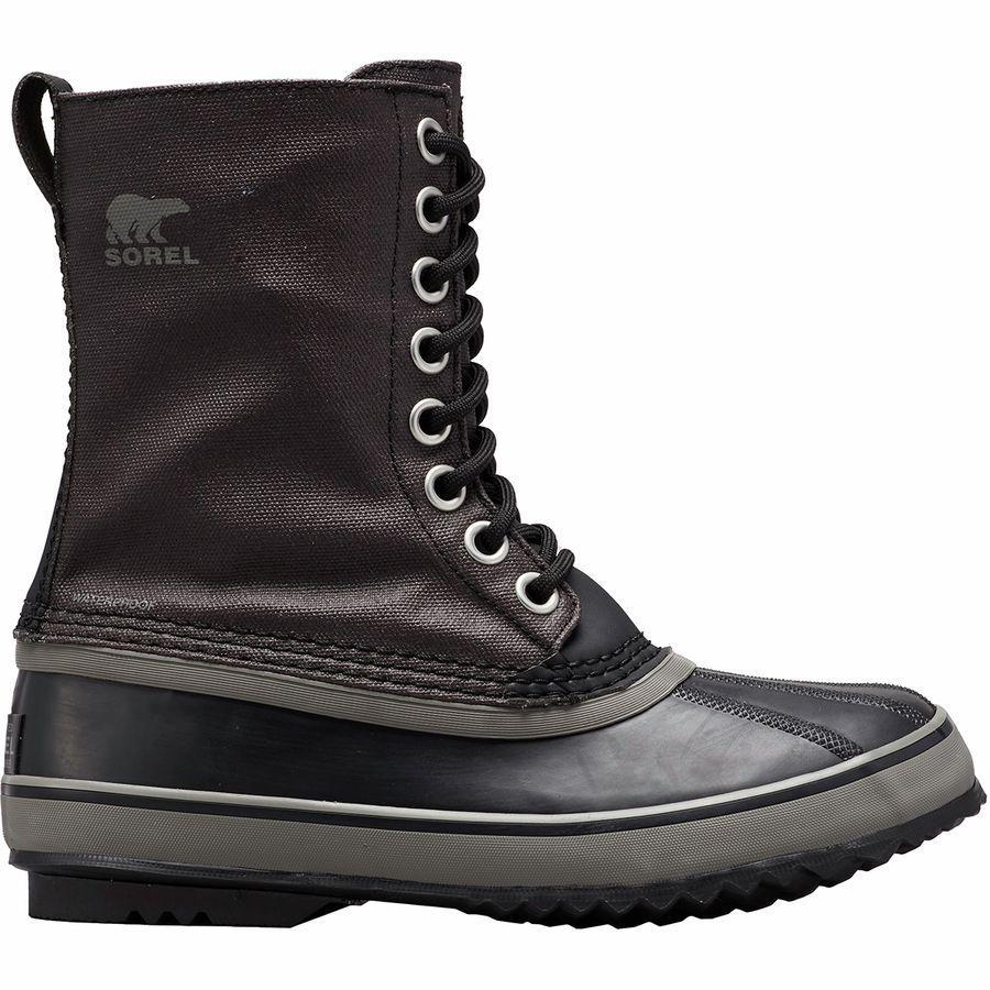 【トレッキング クライミング アウトドア 登山靴】 【レディース シューズ ブーツ 大きいサイズ】 (取寄)ソレル レディース 1964プレミアム キャンバス ブーツ Sorel Women 1964 Premium Canvas Boot Black/Quarry
