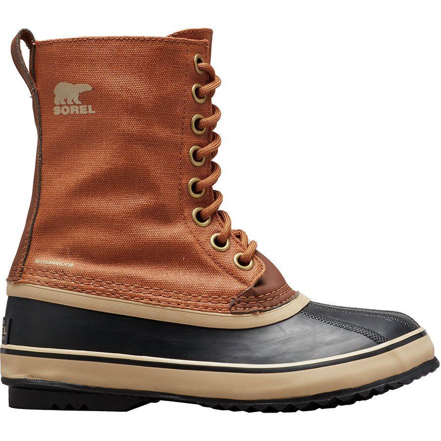 【トレッキング クライミング アウトドア 登山靴】 【レディース シューズ ブーツ 大きいサイズ】 (取寄)ソレル レディース 1964プレミアム キャンバス ブーツ Sorel Women 1964 Premium Canvas Boot Camel Brown