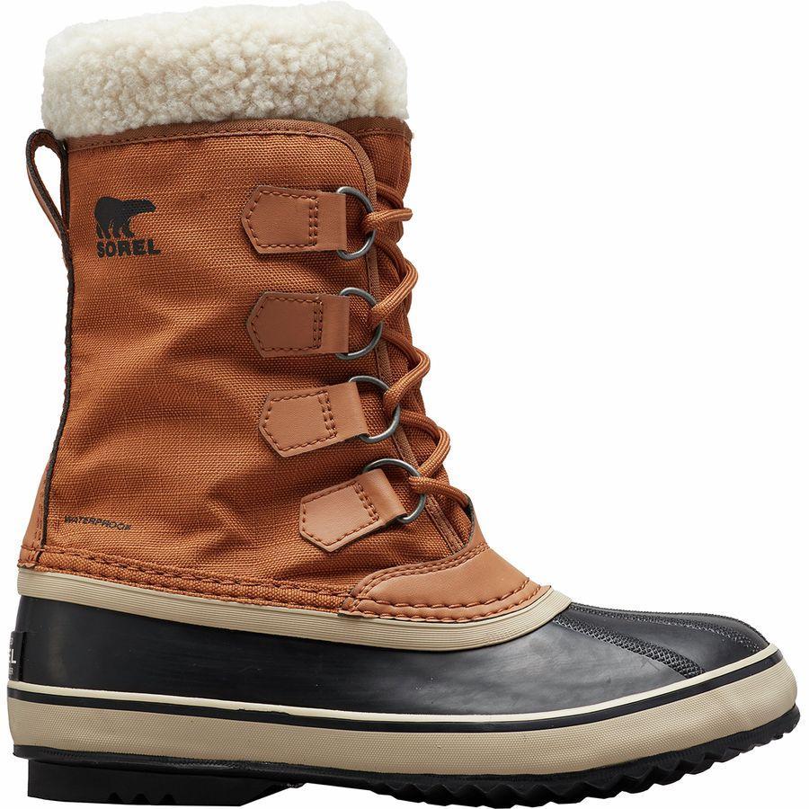 【トレッキング クライミング アウトドア 登山靴】 【レディース シューズ ブーツ 大きいサイズ】 (取寄)ソレル レディース ウィンター カーニバル ブーツ Sorel Women Winter Carnival Boot Camel Brown