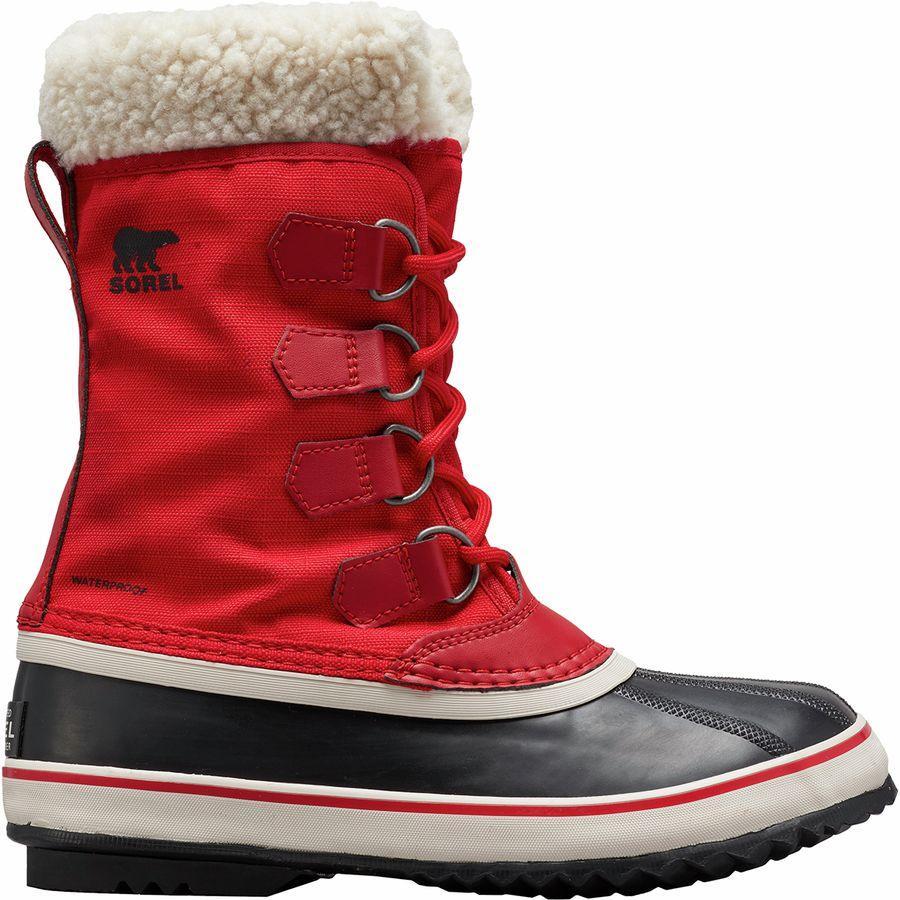 【トレッキング クライミング アウトドア 登山靴】 【レディース シューズ ブーツ 大きいサイズ】 (取寄)ソレル レディース ウィンター カーニバル ブーツ Sorel Women Winter Carnival Boot Mountain Red