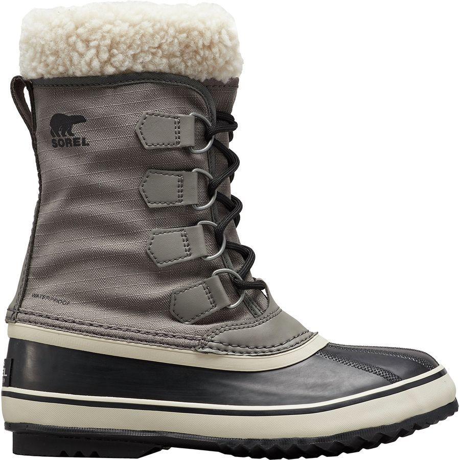 (取寄)ソレル レディース ウィンター カーニバル ブーツ Sorel Women Winter Carnival Boot Quarry/Black
