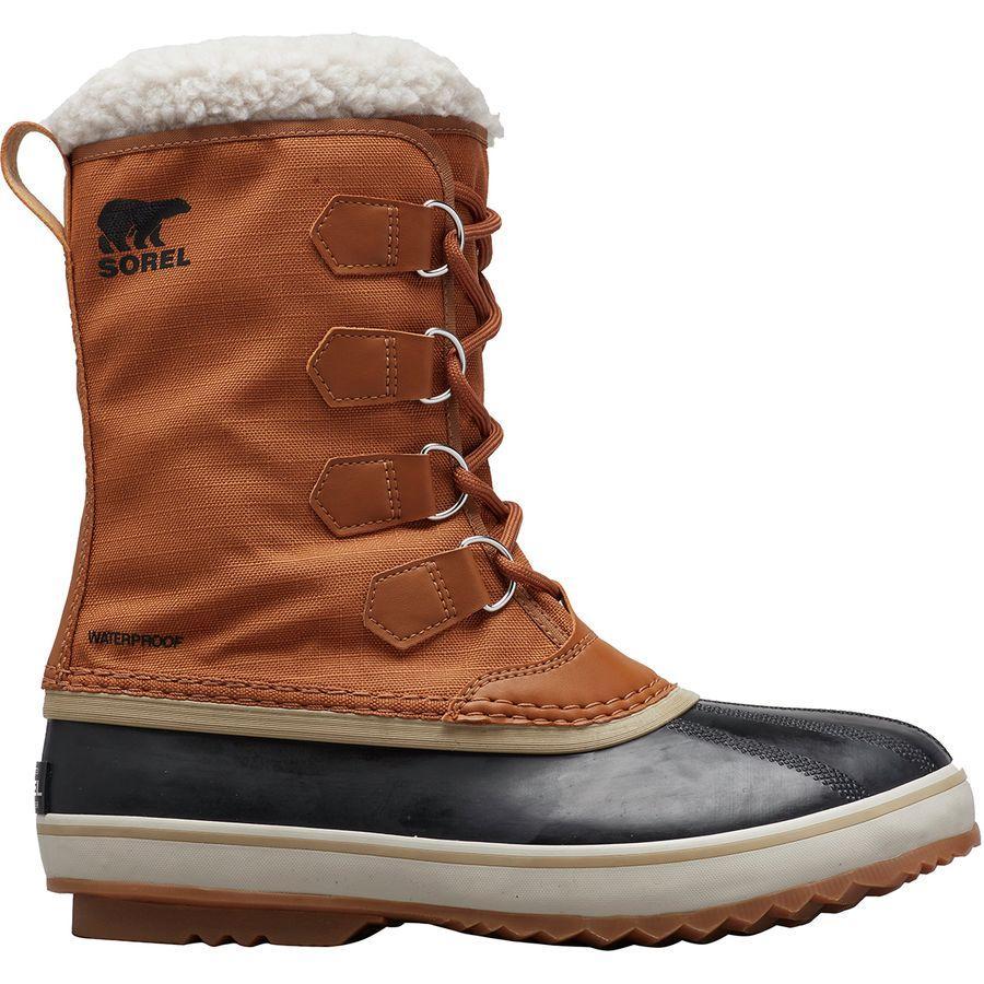 (取寄)ソレル メンズ 1964パック ナイロン ブーツ Sorel Men's 1964 Pac Nylon Boot Camel Brown/Black