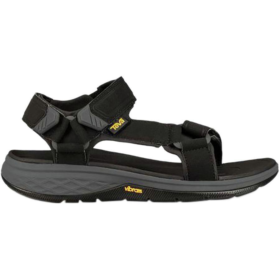 (取寄)テバ メンズ ストラタ ユニバーサル サンダル Teva Men's Strata Universal Sandal Black