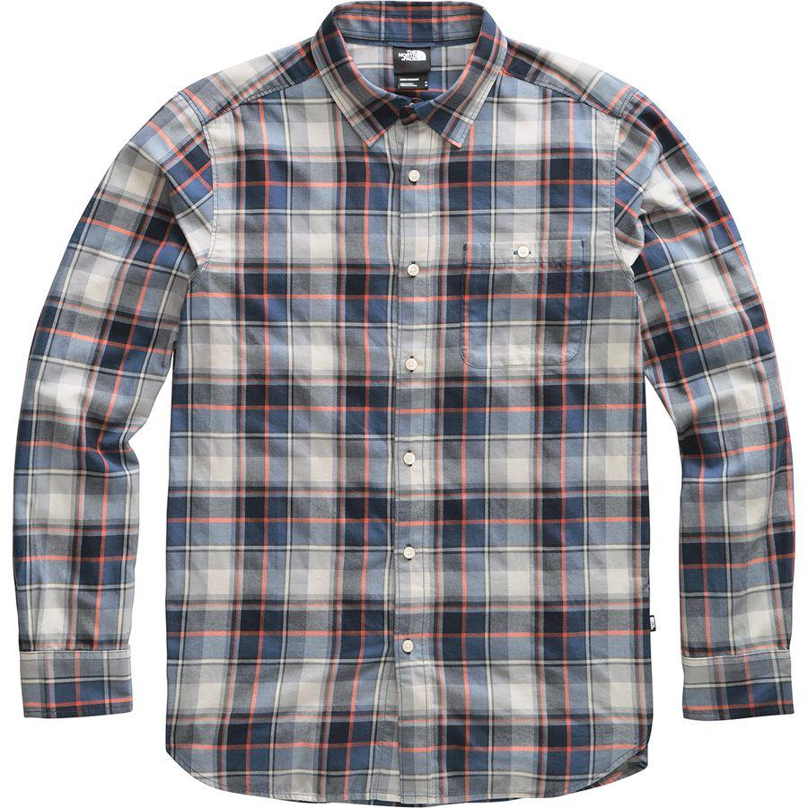 【エントリーでポイント10倍】(取寄)ノースフェイス メンズ ヘイデン パス 2.0 ロングスリーブ シャツ The North Face Men's Hayden Pass 2.0 Long-Sleeve Shirt Shady Blue Rogan Plaid