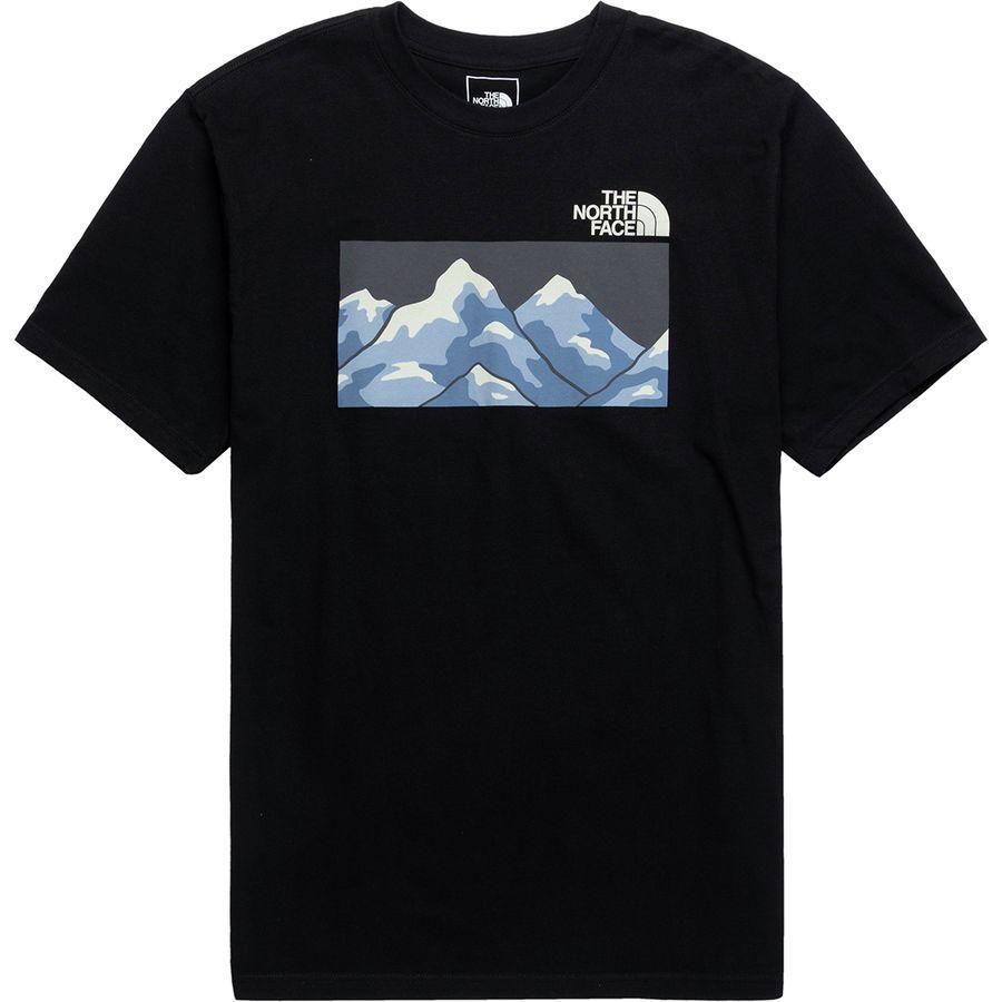 (取寄)ノースフェイス メンズ フロム ザ ビギニング Tシャツ The North Face Men's From The Beginning T-Shirt Tnf Black