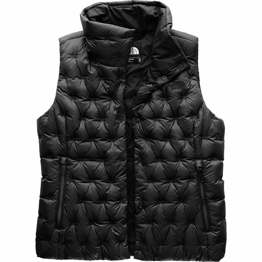 【クーポンで最大2000円OFF】(取寄)ノースフェイス レディース ホラダウン クロップ ダウン ベスト The North Face Women Holladown Crop Down Vest Tnf Black