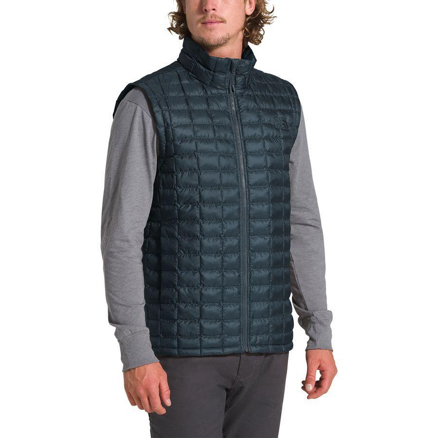 (取寄)ノースフェイス メンズ サーモボール エコ ベスト The North Face Men's Thermoball Eco Vest Urban Navy Matte