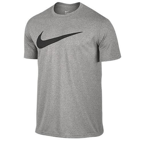 ナイキ メンズ レジェンド 2.0 ショート スリーブ Tシャツ Nike Men's Legend 2.0 Short Sleeve T-Shirt Dark Grey Heather 【コンビニ受取対応商品】