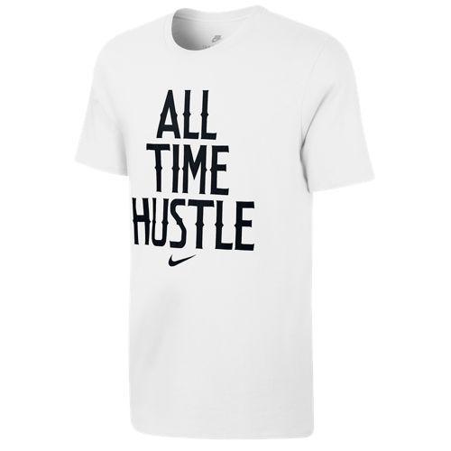 ナイキ メンズ オール タイム ハッスル Tシャツ Nike Men's All Time Hustle T-Shirt White