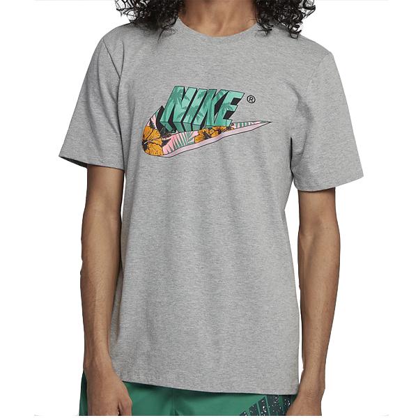 ナイキ メンズ バイス フューチュラ Tシャツ Nike Men's Vice Futura T-Shirt Grey Multi