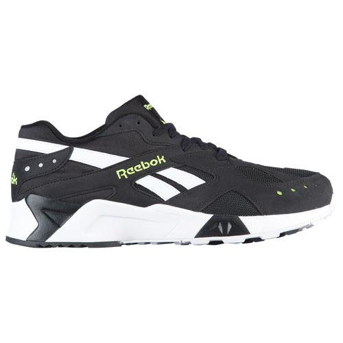 リーボック メンズ アズトレック Reebok Men's Aztrek Black White Solar Yellow