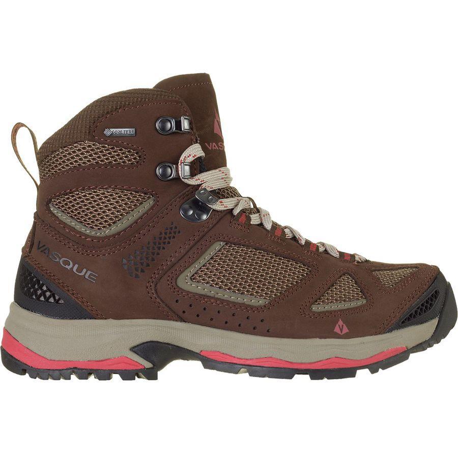 (取寄)バスク レディース ブリーズ 3 Gtx ハイキング ブーツ Vasque Women Breeze III GTX Hiking Boot Brown/Spice
