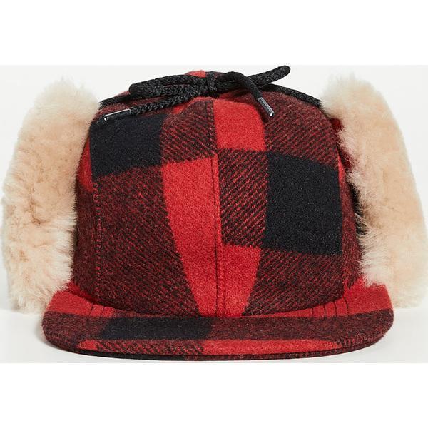 FILSON フィルソン キャップ 帽子 Cap ブランド (取寄)フィルソン ダブル マッキノー キャップ FILSON Double Mackinaw Cap RedBlack