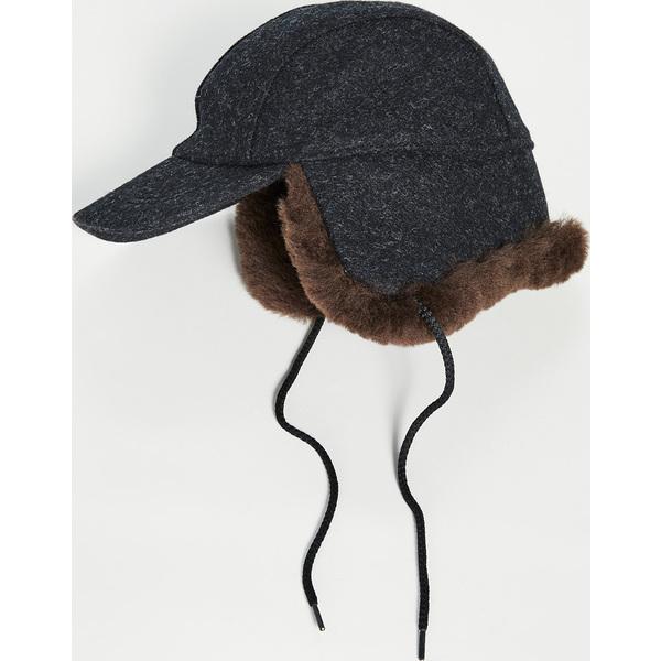 FILSON フィルソン キャップ 帽子 Cap ブランド (取寄)フィルソン ダブル マッキノー キャップ FILSON Double Mackinaw Cap CharcoalDarkBrown