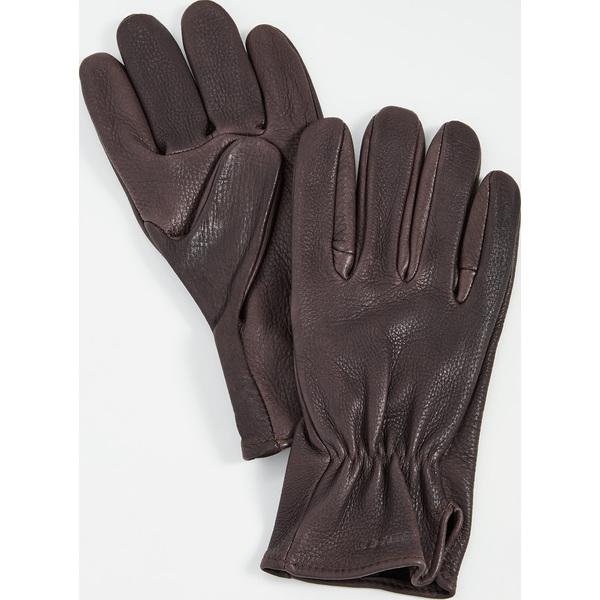 (取寄)フィルソン オリジナル ディア グローブ FILSON Original Deer Gloves Brown