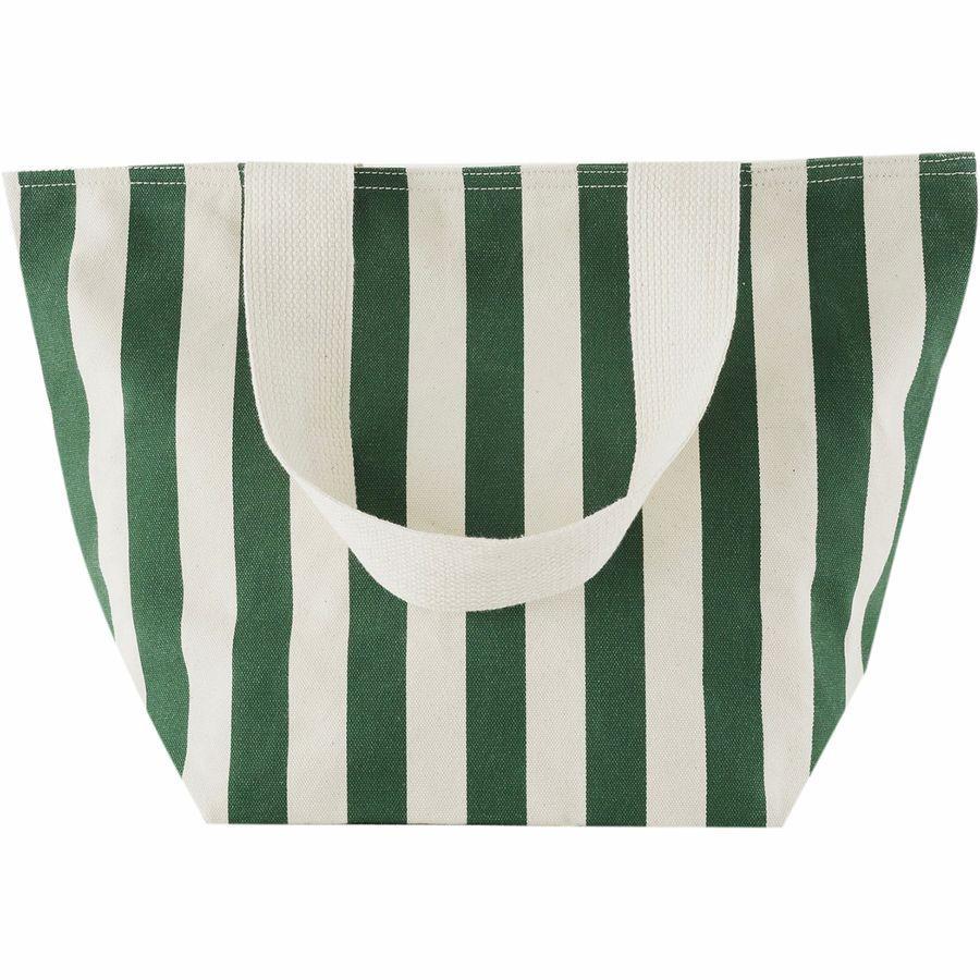 (取寄)バグー レディース キャンバス ジップ トート BAGGU Women Canvas Zip Tote Palm Stripe