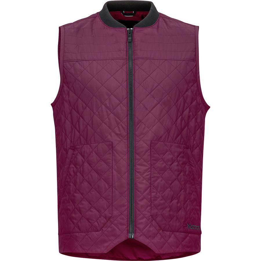 【エントリーでポイント10倍】(取寄)マーモット メンズ 5Boroughs ベスト Marmot Men's 5 Boroughs Vest Fig/Black