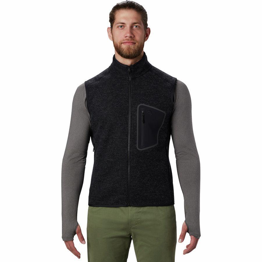 【クーポンで最大2000円OFF】(取寄)マウンテンハードウェア メンズ ハッチャー ベスト Mountain Hardwear Men's Hatcher Vest Black