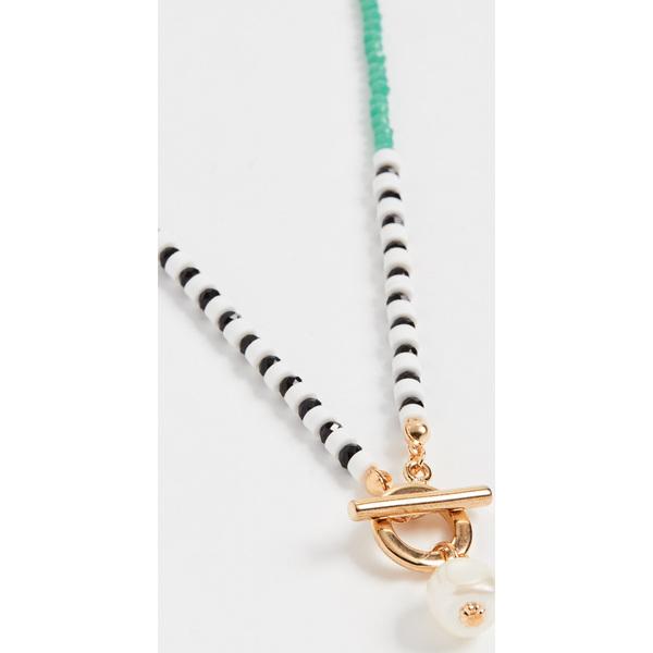 (取寄)シャシ ヨット ライフ ネックレス Shashi Yatch Life Necklace Pearl Multi