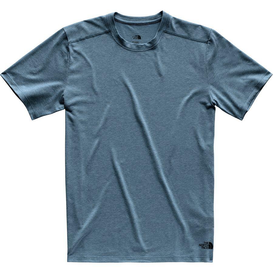 (取寄)ノースフェイス メンズ デイ スリー Tシャツ The North Face Men's Day Three T-Shirt Shady Blue Heather