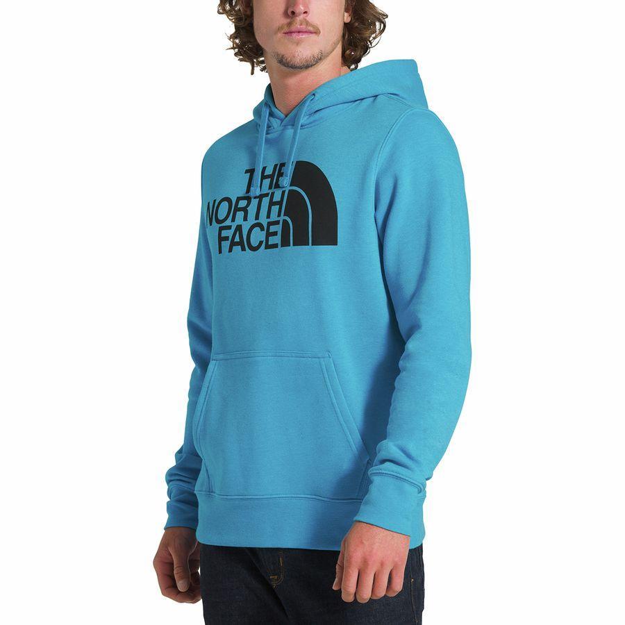 (取寄)ノースフェイス メンズ ハーフ ドーム プルオーバー パーカー The North Face Men's Half Dome Hoodie Pullover Acoustic Blue Heather