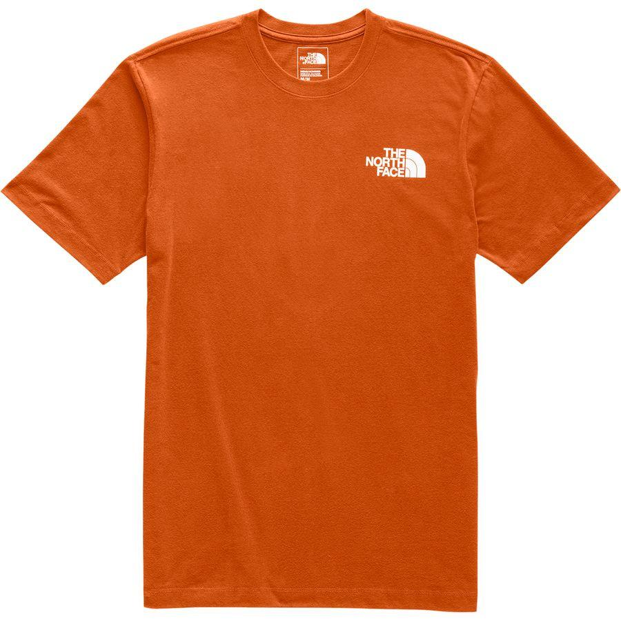 (取寄)ノースフェイス メンズ レッド ボックス Tシャツ The North Face Men's Red Box T-Shirt Papaya Orange