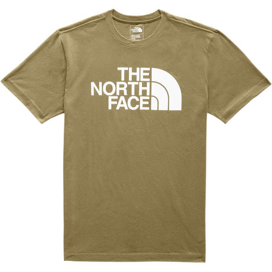 (取寄)ノースフェイス メンズ ハーフ ドーム Tシャツ The North Face Men's Half Dome T-Shirt British Khaki
