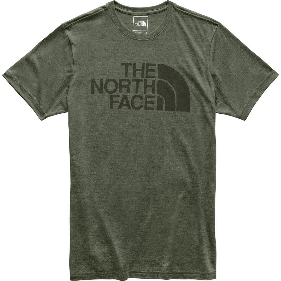 (取寄)ノースフェイス メンズ ハーフ ドーム Tri-Blend Tシャツ The North Face Men's Half Dome Tri-Blend T-Shirt New Taupe Green Heather