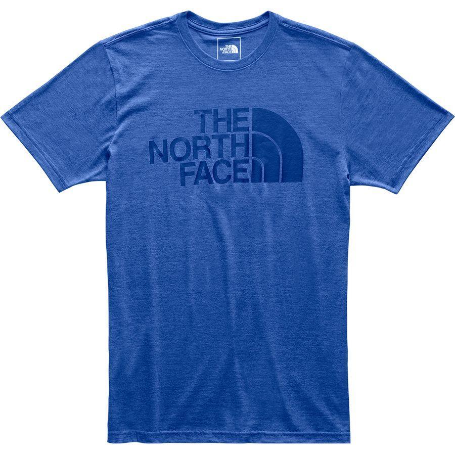 (取寄)ノースフェイス メンズ ハーフ ドーム Tri-Blend Tシャツ The North Face Men's Half Dome Tri-Blend T-Shirt Tnf Blue Heather
