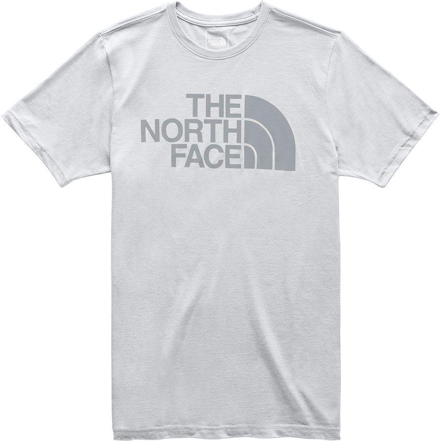(取寄)ノースフェイス メンズ ハーフ ドーム Tri-Blend Tシャツ The North Face Men's Half Dome Tri-Blend T-Shirt Tnf Light Grey Heather