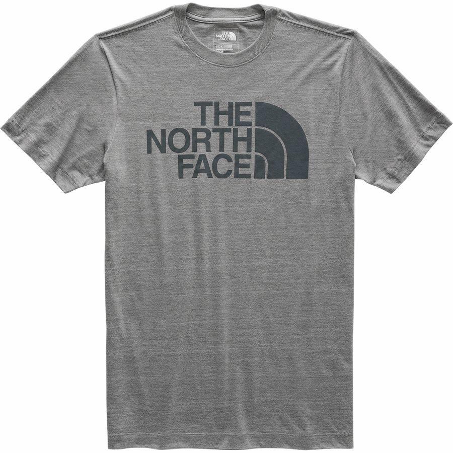 (取寄)ノースフェイス メンズ ハーフ ドーム Tri-Blend Tシャツ The North Face Men's Half Dome Tri-Blend T-Shirt Tnf Medium Grey Heather