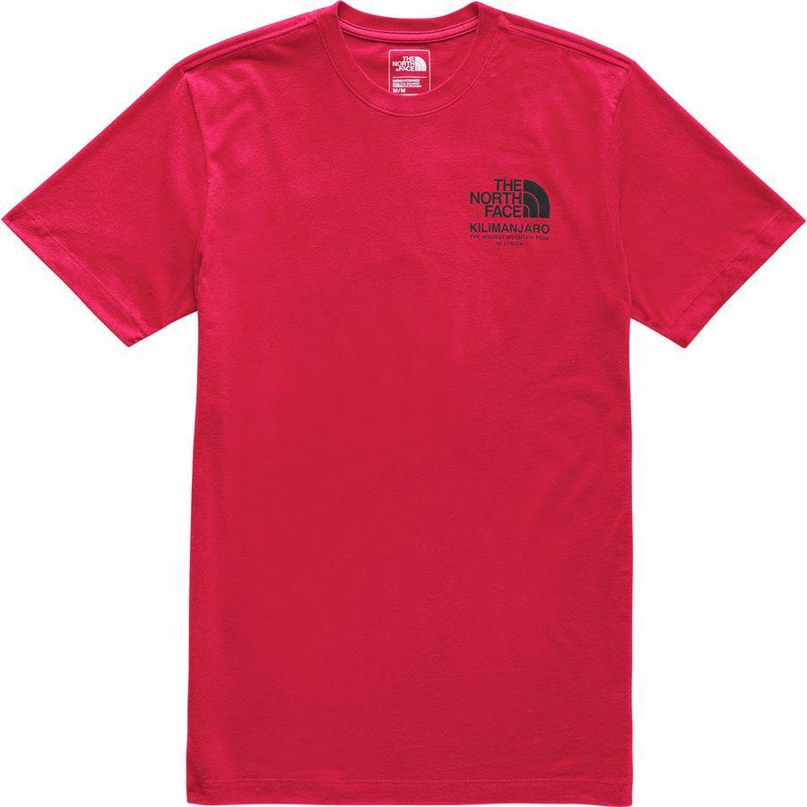 (取寄)ノースフェイス メンズ ハイエスト ピークス Tシャツ The North Face Men's Highest Peaks T-Shirt Tnf Red