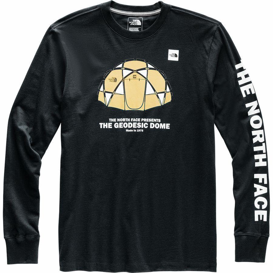 (取寄)ノースフェイス メンズ フロム ザ ビギニング ヘビーウェイト ロングスリーブ ロングスリーブ Tシャツ The North Face Men's From The Beginning Heavyweight Long-Sleeve T-Shirt Tnf Black