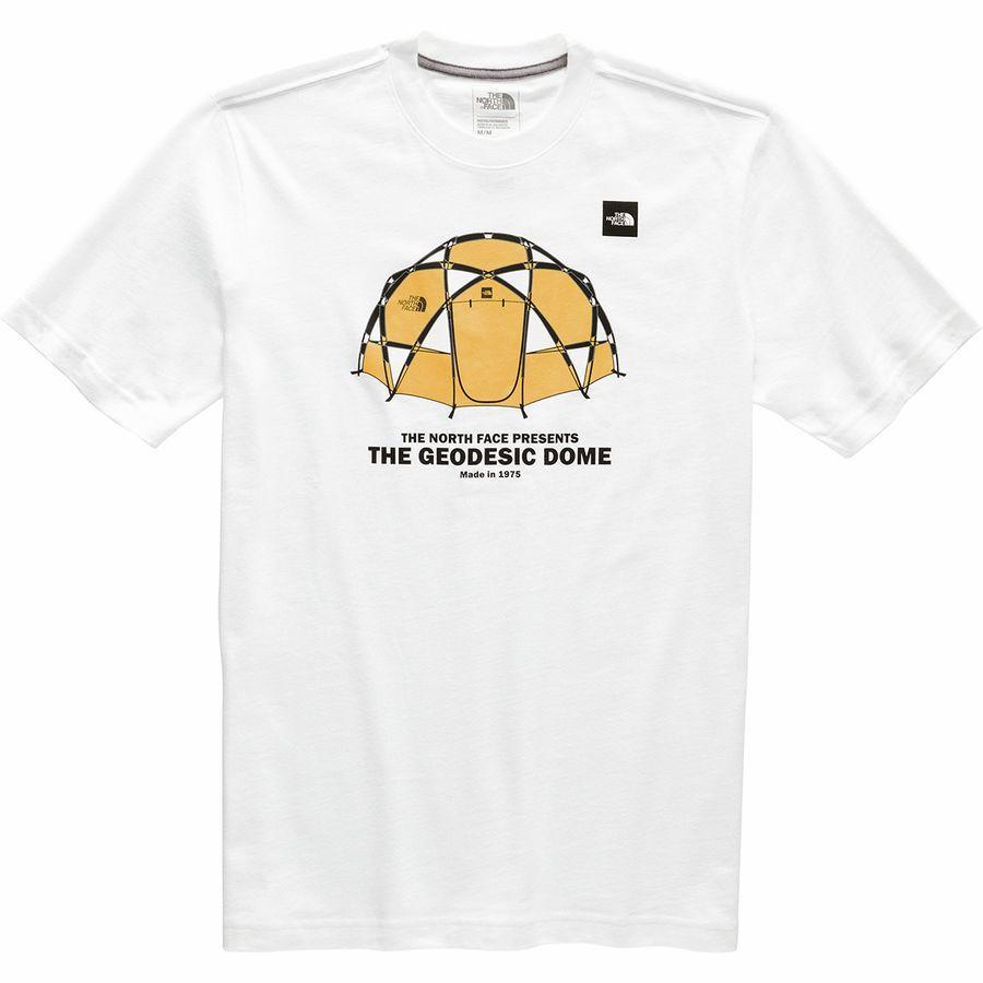 (取寄)ノースフェイス メンズ フロム ザ ビギニング ヘビーウェイト ショートスリーブ Tシャツ The North Face Men's From The Beginning Heavyweight Short-Sleeve T-Shirt Tnf White