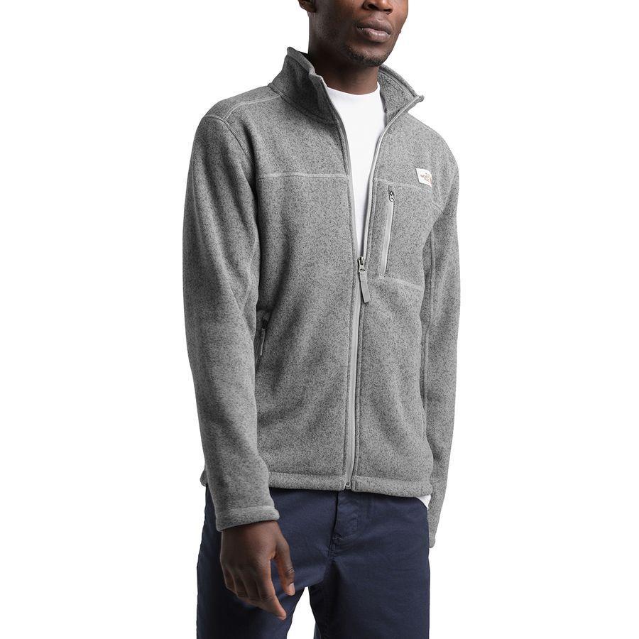 【クーポンで最大2000円OFF】(取寄)ノースフェイス メンズ ゴードン リヨン フルジップ ジャケット The North Face Men's Gordon Lyons Full-Zip Jacket Tnf Medium Grey Heather
