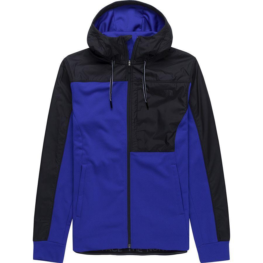【エントリーでポイント10倍】(取寄)ノースフェイス メンズ エッセンシャル フリース フルジップ パーカー The North Face Men's Essential Fleece Full-Zip Hoodie Tnf Blue