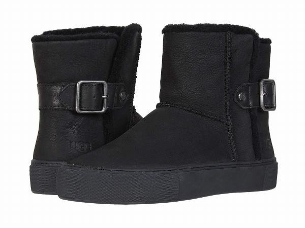(取寄)アグ レディース アイカUGG Women AikaBlack Water Resistant Nubuck Leather
