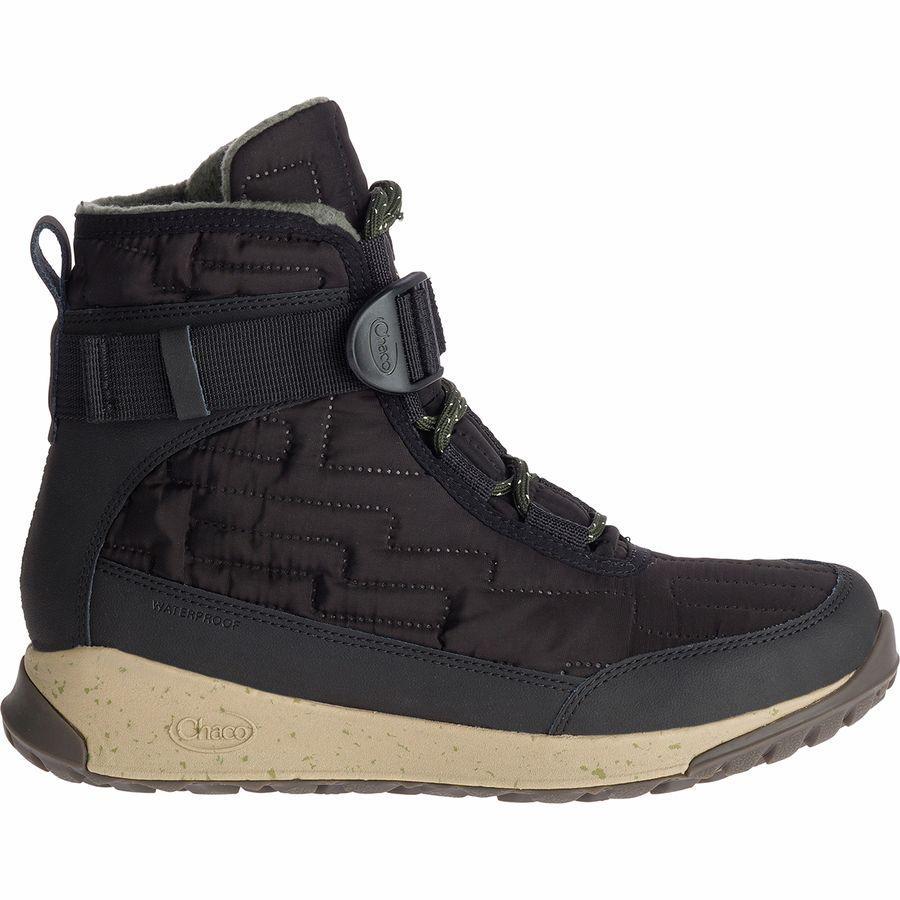 (取寄)チャコ レディース ボレアリス キルト ブーツ Chaco Women Borealis Quilt Boot Black