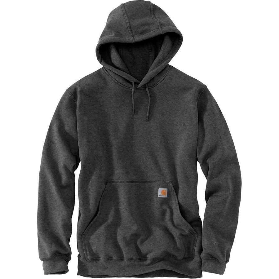 (取寄)カーハート メンズ ミッドウェイト プルオーバー フーデッド トレーナー パーカー Carhartt Men's Midweight Pullover Hooded Sweatshirt Hoodie Carbon Heather