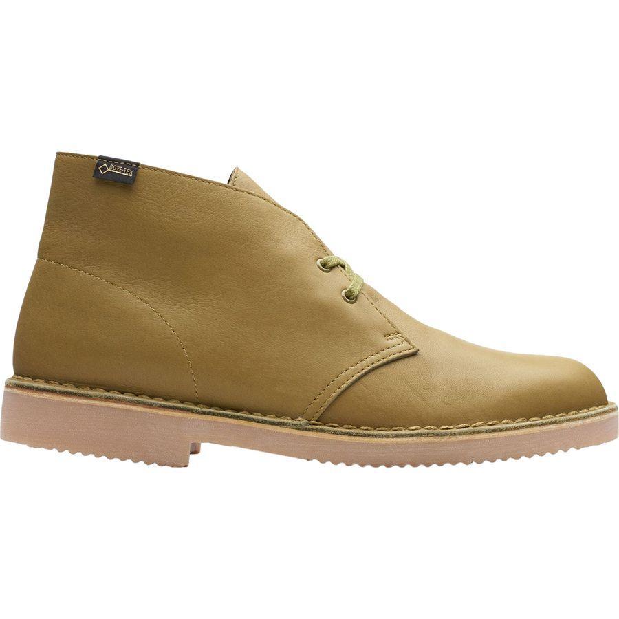(取寄)クラークス メンズ デザート Gtx ブーツ Clarks Men's Desert GTX Boot Khaki Leather