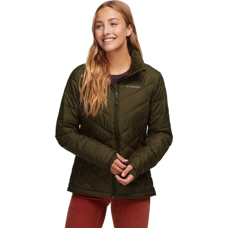 【クーポンで最大2000円OFF】(取寄)コロンビア レディース ヘヴンリー ジャケット Columbia Women Heavenly Jacket Olive Green