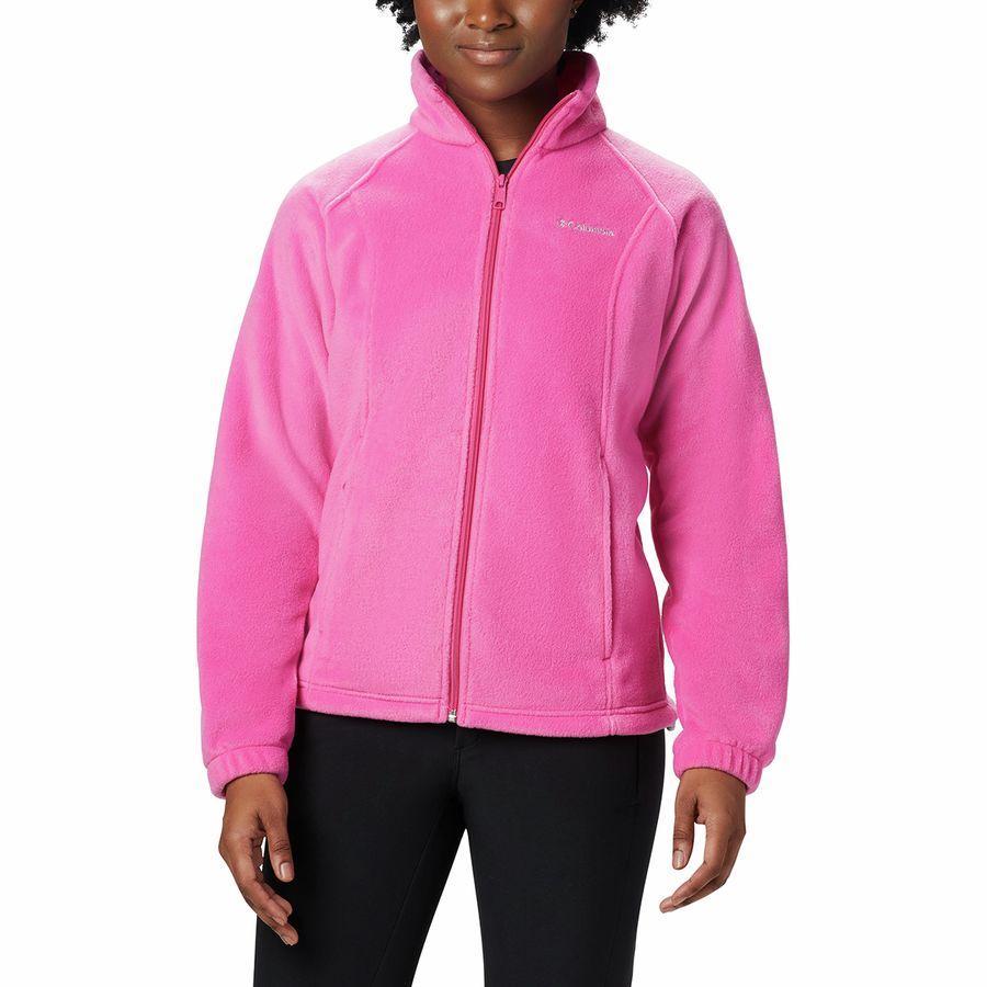 (取寄)コロンビア レディース テステッド タフ イン ピンク ベントン スプリングス ジャケット Columbia Women Tested Tough In Pink Benton Springs Jacket Pink Ice